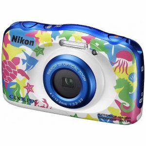 【納期約4週間】NikonニコンW100MRコンパクトデジタルカメラCOOLPIXマリン