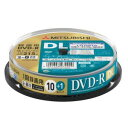 【納期約1〜2週間】三菱ケミカルメディア VHR21HP11SD5 録画用DVD-RDL 片面2層 インクジェットプリンタ対応ワイドレーベル スピンドル11枚パック