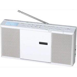 【納期約7~10日】TOSHIBA 東芝 TY-CX700 SD/USB/CDラジオ ワイドFM対応 ホワイト TYCX700