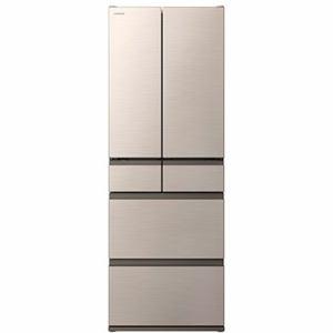 納期約7〜10日  配送設置商品  時間指定不可  代引き不可 HITACHI日立R-H52NN6ドア冷蔵庫(520L・フレン