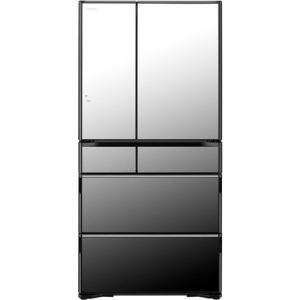 納期約7〜10日  配送設置商品  時間指定不可  代引き不可 HITACHI日立RWXC74NX6ドア冷蔵庫(735L・フレ