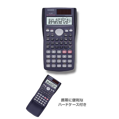 FX-290 10 digit 199 functions and features battery and solar combination calculator