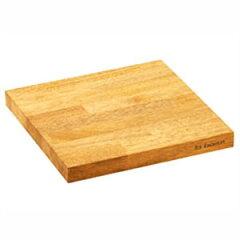 ■40%OFF!■有元葉子オリジナルデザインla base ラ・バーゼゴムの木のまな板 26cm LB-009