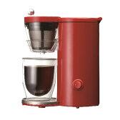 recolte Solo Kaffe コーヒーメーカー レッド【あす楽対応】【送料無料】レコルト ソロカフェ コーヒーレシピ付き