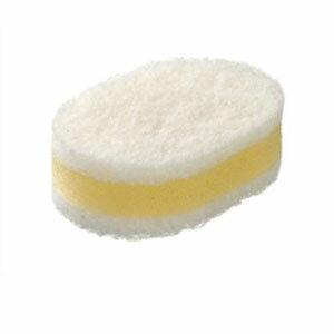 La base (ラバーゼ) 키 친 스폰지 (흰색 × 흰색)