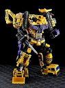 Maketoys トランスフォーマー GIANT ジャイアント (Yellow ver.) MTCM-01DX 3