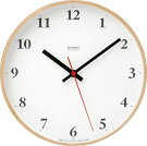 Plywood clock �ץ饤���åɥ���å� LC10-21W ���� �ݤ�����