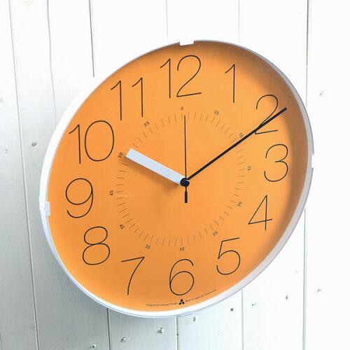 掛け時計 電波時計 Lemnos レムノス CARA カラ AWA13-08 壁掛け時計 子供部屋 掛け時計 見やす...