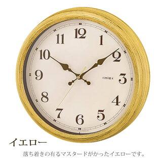 掛け時計AerialRetoroエアリアルレトロW-571掛時計電波時計壁掛け電波掛け時計壁掛け時計時計おしゃれ人気子供部屋軽い掛け時計アナログ掛け時計