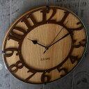掛け時計 電波時計 Musee wood ミュゼ・ウッド 電波 かわいい 北欧 おしゃれ