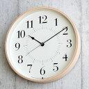 タカタレムノス 掛け時計 電波時計 北欧 TOKI トキ Lemnos レムノス おしゃれ 壁掛け時計 電波 アナログ かわいい 木製 電波 スイープムーブメント 連続秒針 音がしない 時計 壁掛け