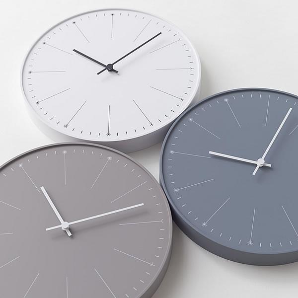 タカタレムノス lemnos 掛け時計 dandelion ダンデライオン NL14-11 掛時計 壁掛け 壁掛け時計 時計 おしゃれ 人気 デザイン nendo インテリア 北欧 かわいい クロック ナチュラル シンプル 楽天 305252