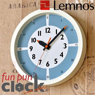 色の効果で子供が時間を視覚的に理解できる掛け時計