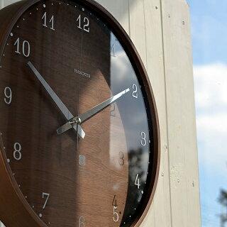 掛け時計/電波時計【Lemnos/レムノス】BROWNIEブラウニーLサイズ/PC07-04L/電波/壁掛け/壁掛け時計/掛時計/時計/おしゃれ/かわいい/人気/デザイン/インテリア/北欧/クロック