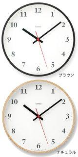 スタンダードなデザインで視認性に優れた電波掛け時計