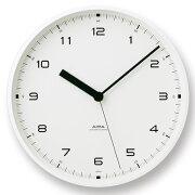 ポイント 掛け時計 レムノス アーバンクロック 置き時計 おしゃれ デザイン インテリア
