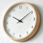 タカタレムノス 掛け時計 電波時計 Lemnos レムノス Campagne カンパーニュ PC10-24W 北欧 おしゃれ かわいい 木製 人気 日本製 音がしない 寝室 キッチン 子供 子供部屋 リビング 時計 壁掛け 電波 壁掛け時計