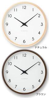 掛け時計,電波時計,Lemnos,レムノス,Campagne,カンパーニュ,壁掛け時計