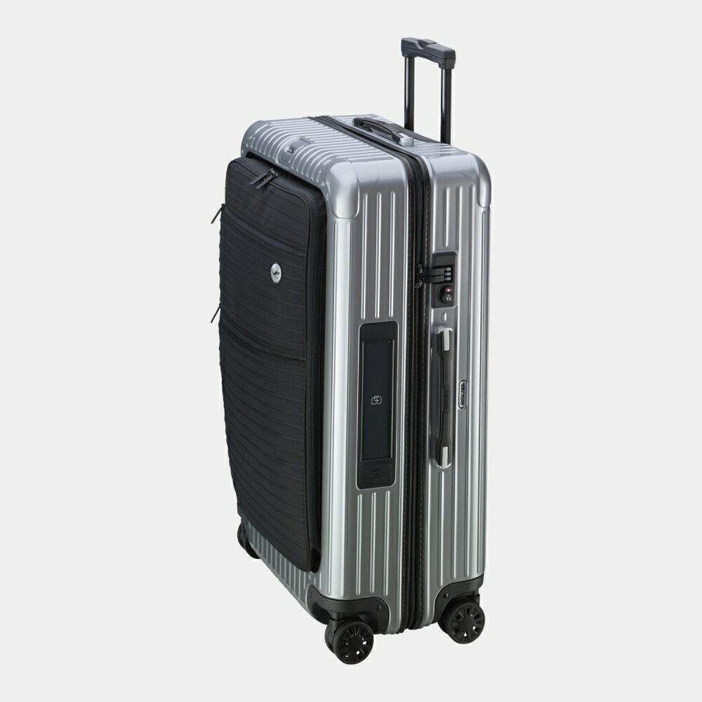 [正規品] 5年保証付き RIMOWA Lufthansa Bolero Multiwheel with RIMOWA 30L 85Lリモワ ルフトハンザボレロ電子タグセットIII シルバー 1755903