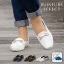 【20%OFF 6/11 01:59まで】RAINFUBS EFFECT/レインファブス エフェクト 完全防水 レインローファー レディース [23〜25cm/全3サイズ/全3色] [RE-2004]1年中履けるオシャレなレインローファー 女性 長靴 雨靴 靴擦れしにくい レインシューズ 通勤 通学 カジュアル