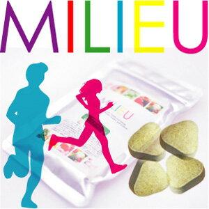【ミリュー/milieu】ビタミン・ヘム鉄含有食品120粒入り(約1か月分)