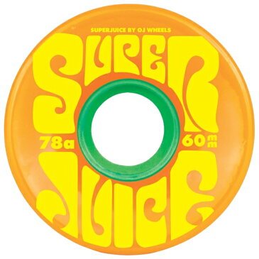 オージェー/OJ SUPER JUICE オレンジ 60mm 78a ウィール