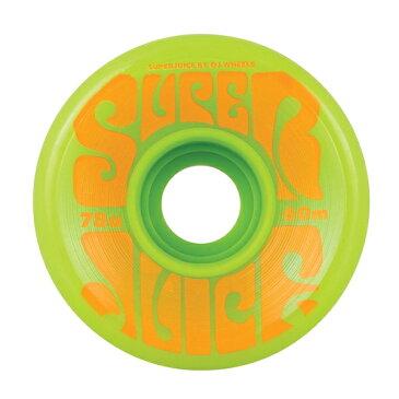 オージェー/OJ SUPER JUICE グリーン 60mm 78a ウィール
