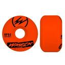 レック ウィール WRECK WHEELS/W2 SQUARE CUT ORANGE 52mm 83B ウィール