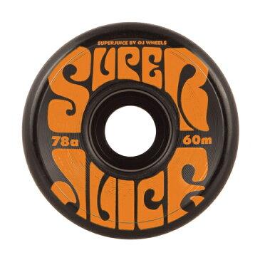 オージェー/OJ SUPER JUICE ブラック 60mm 78a ウィール