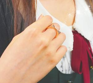 【mimiring】ミミリングプレミアム(10KWG×ダイヤモンド)10P07Feb16【楽ギフ_包装】