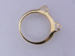 【mimiring】ミミリングプレミアム(18KGP×CZダイヤモンド)【10P12Jul14】【楽ギフ_包装】