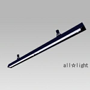 TES LIGHTING 配線ダクトレール用 LEDベースライト リビアーノ 1200mmタイプ 色温度:3000K(電球色相当)(LEDランプ付) 光束:4112lm 本体色:黒 TFL8452B30