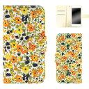 Galaxy A20 SCV46 ケース スマホケース ギャラクシー エートゥエンティ 手帳型 小花柄 花柄 フ……