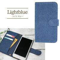 スマホケース手帳型全機種対応オーダーデニムiPhoneXiPhone7/8XperiaXZXZ1XZsaquosアイフォン8