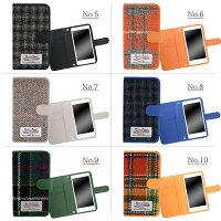 スマホケース手帳型全機種対応オーダーハリスツイードiPhoneXiPhone7/8XperiaXZXZ1XZsaquosアイフォン8