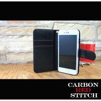 スマホケース手帳型全機種対応オーダーカーボン調iPhoneXiPhone7/8XperiaXZXZ1XZsaquosアイフォン8