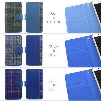 スマホケース手帳型全機種対応オーダータータンチェックiPhoneXiPhone7/8XperiaXZXZ1XZsaquosアイフォン8