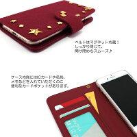 スマホケース手帳型全機種対応オーダー帆布(ハンプ)スタッズデコiPhoneXRiPhoneXiPhone7/8XperiaXZXZ1XZsaquosアイフォン8