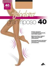 日常使用パンスト【グランリポーゾ40】(フィロドーロ)