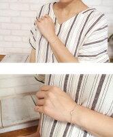 スマイルブルートパーズ誕生石ブレスレットプラチナ笑顔カラーストーン【送料無料】