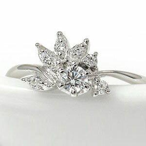 プラチナリング ダイヤモンド 誕生石 指輪 光輪 太陽 陽光  ピンキーリング