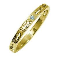 インディアンジュエリーネイティブアメリカン10金ブルートパーズピンキーリング矢アロー大人エタニティ指輪誕生石