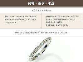 エメラルドリングプラチナピンキーロックミル鋲ペア指輪誕生石スタッズ