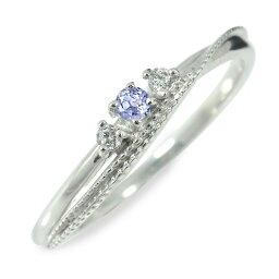 プラチナ タンザナイト リング 誕生石 指輪 ピンキー送料無料 母の日 花以外