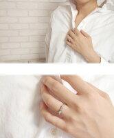 リボン10金ペリドット指輪誕生石ダイヤモンドピンキーリング【送料無料】