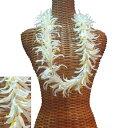 ハワイアン レイ フラ フラダンス衣裝 フラワーレイ 大人気 スパイダーリリーレイ ホワイト