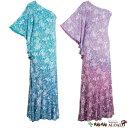 フラ ハワイアン ドレス ワンピース マカマカ カイラコレクション アロアロ ダンスウェア レディース 2カラー