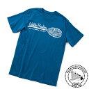 ハワイ Tシャツ 半袖 Tシャツ メンズ Tシャツロゴ ワイキキビーチボーイ Tシャツ ネイビー