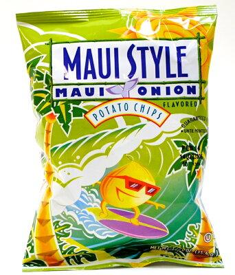 芸能人にも大人気のハワイのポテトチップス!容量が倍以上になりました!マウイスタイルポテトチップス1袋77.9g賞味期限:2016.02.23【CS】