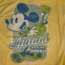 ハワイ限定!ディズニー ミッキーマウス Tシャツ(男性用)※薄手の生地※日本のワンサイズ下が目安です。例:日本サイズMの場合、アメリカSサイズ。※北海道・九州は1万円以上で送料無料!(沖縄のぞく)
